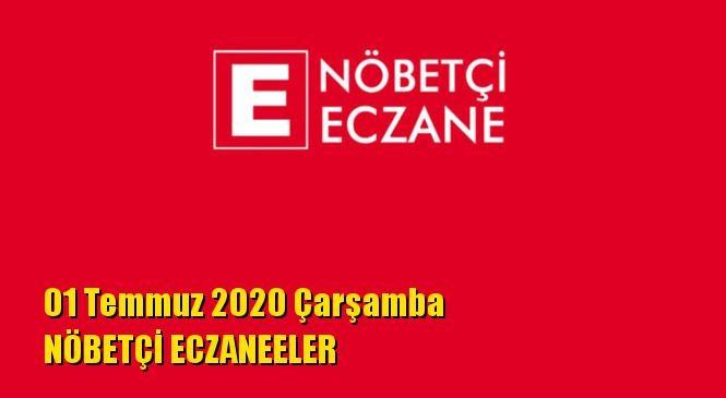 Mersin Nöbetçi Eczaneler 01 Temmuz 2020 Çarşamba