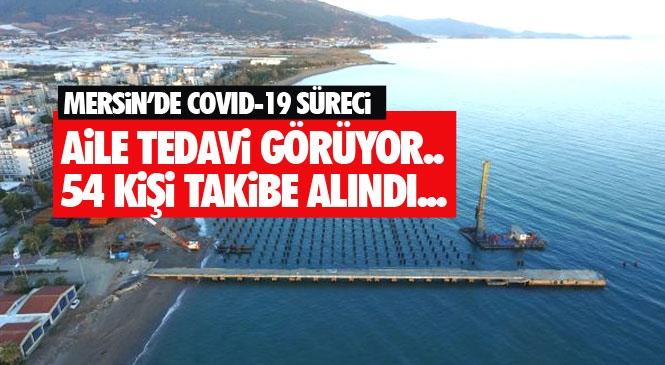 Mersin Anamur'dan Gaziantep'e Taziye Ziyaretine Giden Ailenin Döndüklerinde Yapılan Koronavirüs Testi Pozitif Çıktı: 54 Kişi Yakın Takibe Alındı
