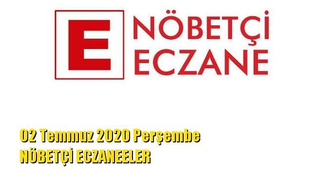Mersin Nöbetçi Eczaneler 02 Temmuz 2020 Perşembe
