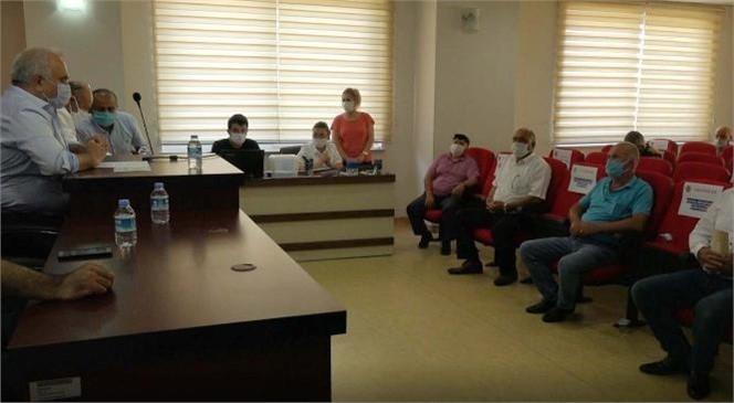 Erdemli Belediyesi, Temmuz Ayı Meclis Toplantısını Gerçekleştirdi