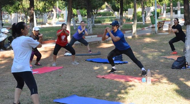 Mersin Büyükşehir'den, Sabah Veya Akşam Sporu Yapan Vatandaşlara Destek