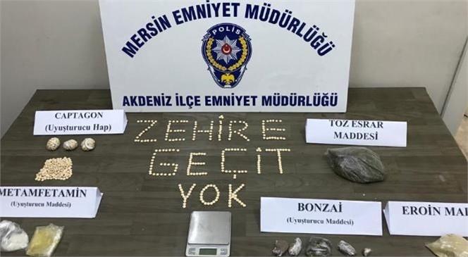 Mersin'de Durdurulan Şahısın Yapılan Üst Aramasında Uyuşturucu Çıktı
