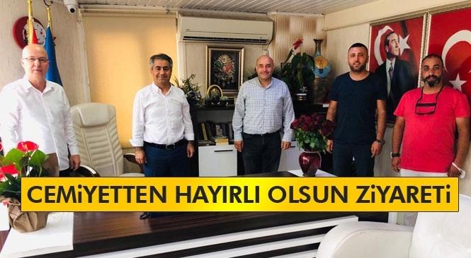 Tarsus Gazeteciler Cemiyetinden AK Parti Tarsus İlçe Başkanı Podak'a Ziyaret