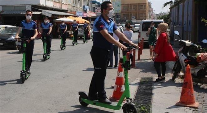 Mersin'de Scooterlu Zabıta Dönemli