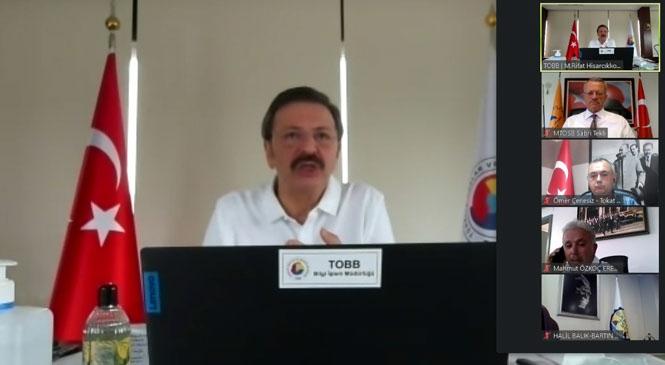 OSB Başkanları Hisarcıklıoğlu İle Bir Araya Geldi