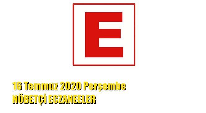 Mersin Nöbetçi Eczaneler 16 Temmuz 2020 Perşembe