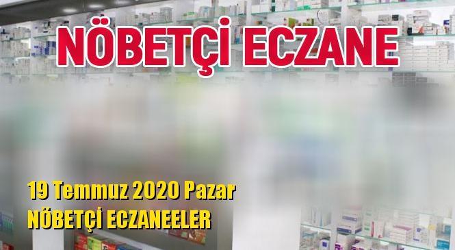 Mersin Nöbetçi Eczaneler 19 Temmuz 2020 Pazar
