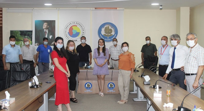 Tarsus Borsa'da Covid-19 Salgını ve İletişimde Yeni Kurallar Eğitimi