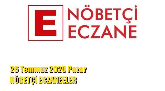 Mersin Nöbetçi Eczaneler 26 Temmuz 2020 Pazar