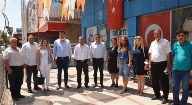 Tarsus CHP'den, AK Partiye Ziyaret