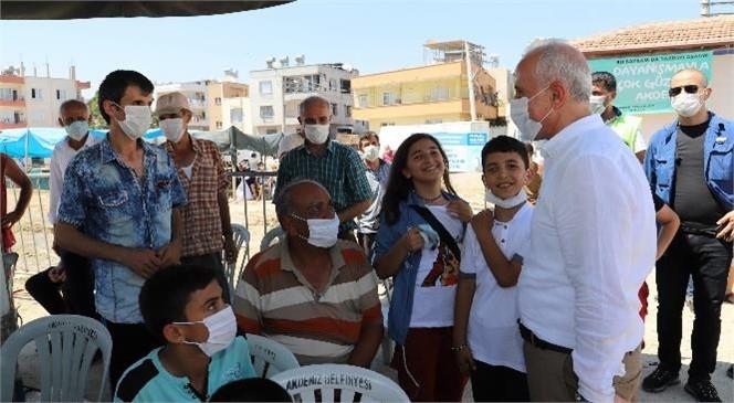 Başkan Gültak, Kurban Kesim Yerlerini Ziyaret Etti
