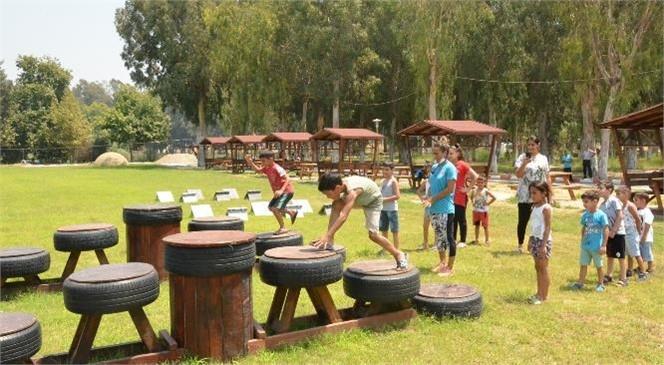 """Gençlik Kampı'nda AKROMFED İçin """"Anne-çocuk"""" Etkinliği"""