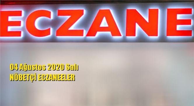 Mersin Nöbetçi Eczaneler 04 Ağustos 2020 Salı