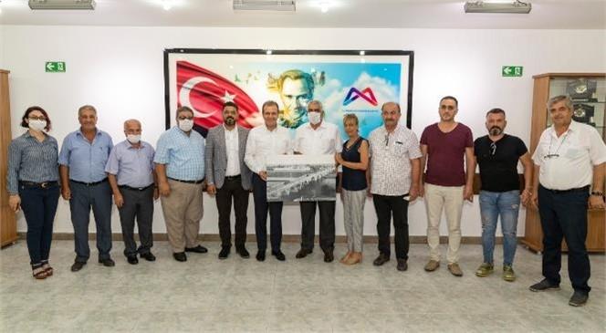 Büyükşehir Belediye Başkanı Seçer, Akdeniz Bölgesi Muhtar Temsilcileri İle Buluştu