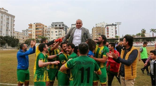 Erdemli Belediyespor Bal Ligi'nde