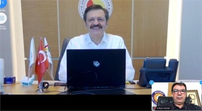 Hisarcıklıoğlu, Mersin İl/ilçe Oda/borsaları Müşterek Meclis Toplantısına Katıldı