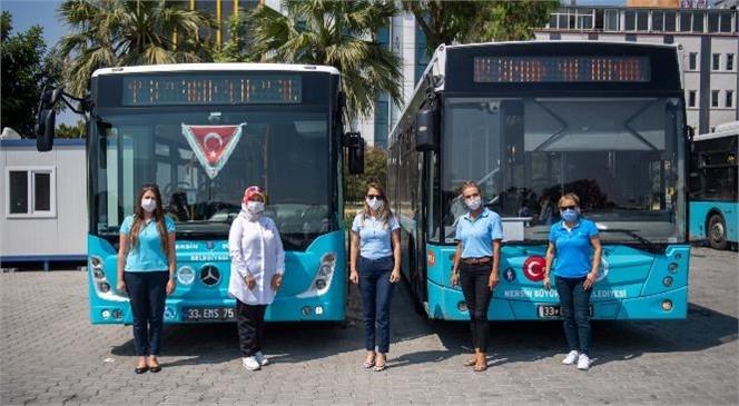 Büyükşehir'in Kadın Otobüs Şoförleri Yönünü Yaylalara Çevirdi