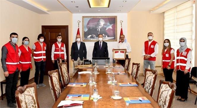 Mersin'de Kızılay Bağışçıları Ödüllendirildi