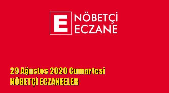 Mersin Nöbetçi Eczaneler 29 Ağustos 2020 Cumartesi