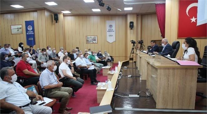 Akdeniz Belediye Meclisi, Eylül Ayı Toplantısını Yaptı