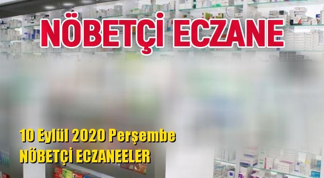 Mersin Nöbetçi Eczaneler 10 Eylül 2020 Perşembe