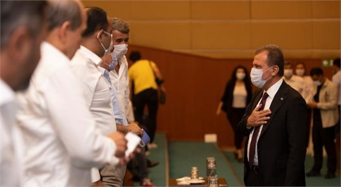 Mersin Büyükşehir Belediye Meclisi Eylül Ayı Olağan Toplantısı Yapıldı