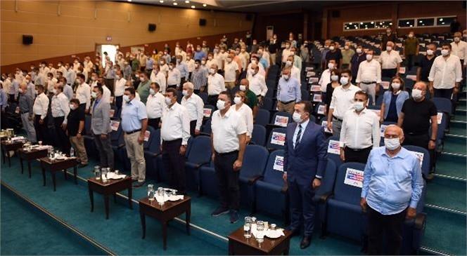 """Mersin Büyükşehir Belediye Başkanı Vahap Seçer Mecliste Yaptığı Konuşmada: """"Biz Mersin Açıklarındaki Tüm Gemilerden Sintine Alımına Talibiz"""""""