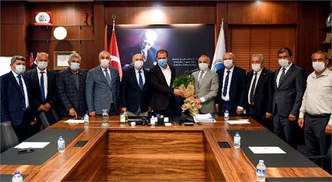 Başkan Seçer, Ahilik Haftası Kutlamaları Kapsamında Esnaf Temsilcilerini Ağırladı