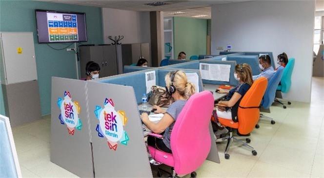"""Mersin'de Yeni Çağrı Merkezi Sistemi!büyükşehir, """"Teksin Mersin İletişim Koordinasyon ve Analiz Merkezi"""" İle Vatandaşa Daha da Yakın"""