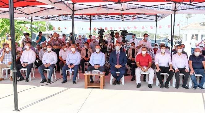 """Mersin Büyükşehir, """"Haydi Gel Köyümüze Destek Verelim Projesi""""ni Başlattı"""