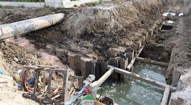 Başkan Seçer, Taşucu'nda Devam Eden Atıksu Terfi Merkezi ve Terfi Hattı Çalışmalarını İnceledi