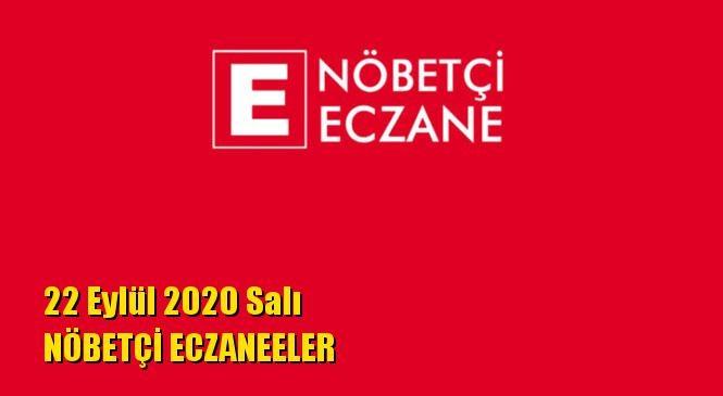 Mersin Nöbetçi Eczaneler 22 Eylül 2020 Salı