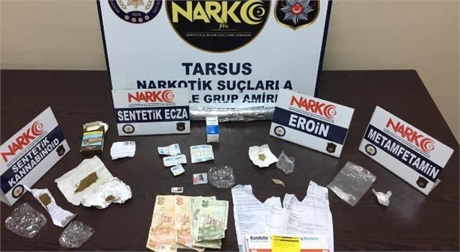 Tarsus İlçe Emniyet Müdürlüğü Ekipleri Uyuşturucu İle Mücadeleye Aralıksız Devam Ediyor