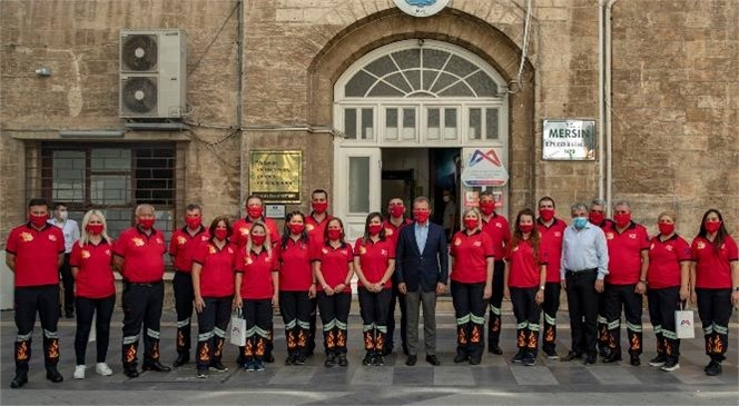 """Mersin Büyükşehir Belediyesi, İtfaiye Personeli İçin """"Ata Eğitim Merkezi""""Ni Açacak"""