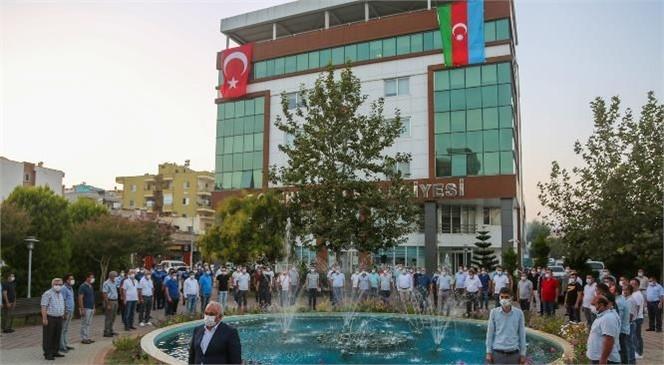 """Başkan Tollu """"Kanımızla Canımızla Can Azerbaycan'ın Yanındayız"""""""