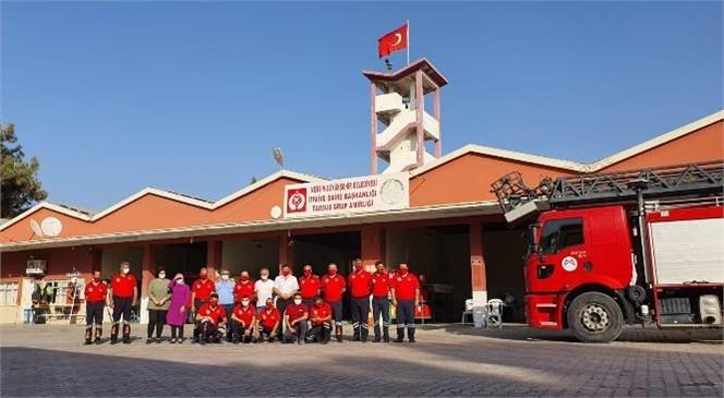 İtfaiye Haftası'nın 96. Yıl Dönümü! Büyükşehir'in Tarsus'taki Başarılı İtfaiyecileri