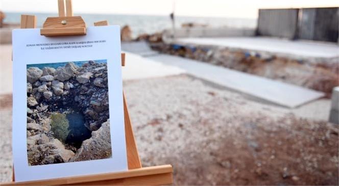 Başkan Vahap Seçer, Aşırı Yağışlarda Sahil Şeridini Taşkınlardan Kurtaracak Çalışmaları İnceledi