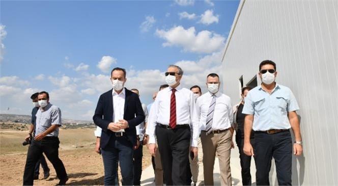Tarsus Organize Sanayi Bölgesi Şantiye Alanında İnceleme Yapıldı