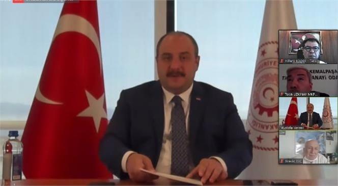 Koçak, Bakan Varank'tan Tarsus OSB İçin Destek İstedi