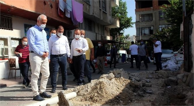 Akdeniz Belediye Başkanı Gültak, Bahçe ve Kültür Mahallelerine Misafir Oldu