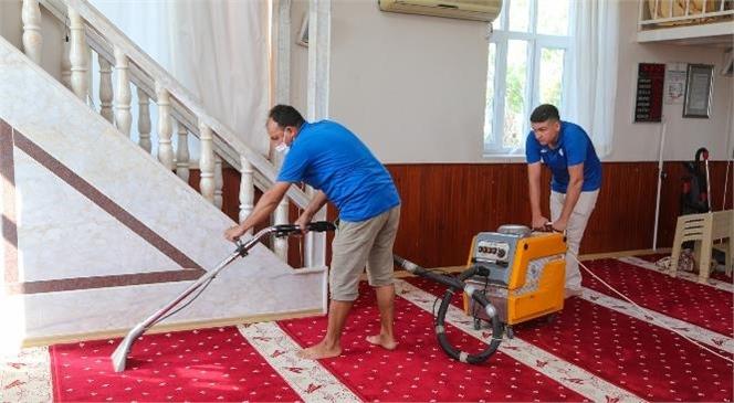 Erdemli Belediyesi, Camilere Destek Hizmetini Sürdürüyor