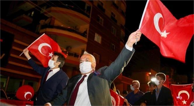 """""""Erdemli 'de Cumhuriyet Coşkusu"""""""