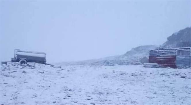 Toroslar'a İlk Kar Düştü! Toroslar Kar Fest'e Hazırlanıyor