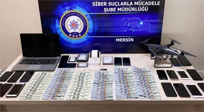 Mersin Merkezli 7 İlde Düzenlenen Operasyonda, Sahte Bahis Kuponu Düzenleyerek Dolandırıcılık Yaptıkları İddiasıyla 48 Kişi Gözaltına Alındı