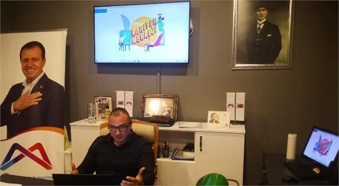 Büyükşehir Kariyer Merkezi, Çağ Üniversitesi İle Çevrimiçi Sohbette Buluştu