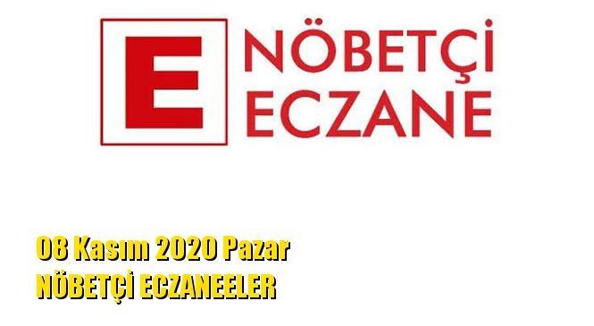 Mersin Nöbetçi Eczaneler 08 Kasım 2020 Pazar