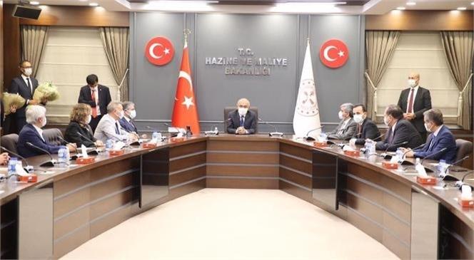 Hazine ve Maliye Bakanlığına Atanan Lütfi Elvan Göreve Başladı