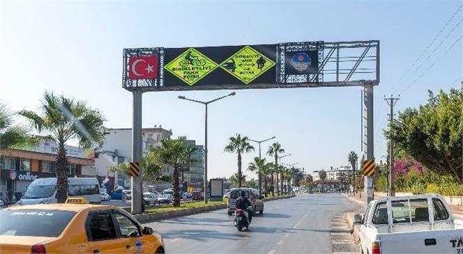 Mersin'de Bisikletlilerin Kentte Rahatlıkla Bisikletlerini Sürebilmesi ve Trafikte Yaşayabilecekleri Sorunları En Aza İndirebilmek İçin Çalışmalarına Hızla Devam Ediyor