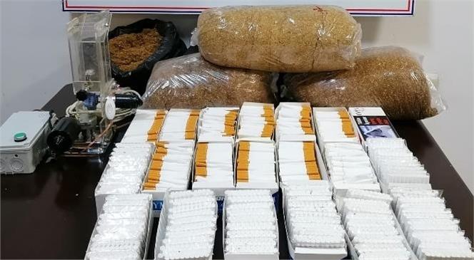 Mersin Toroslar Halk Kent Mahallesinde Satışa Hazır Kaçak Olarak Temin Edilmiş 14 Kilo Kıyılmış Tütün Ele Geçirildi