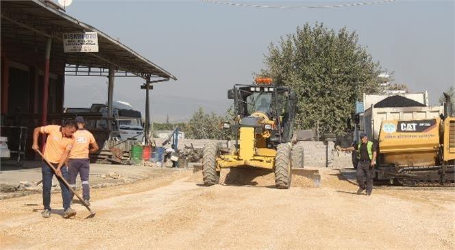 Mersin Büyükşehir, Üstyapı Çalışmalarını Sürdürüyor
